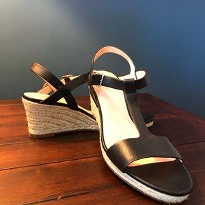 Cole Haan wedge sandals  nwot